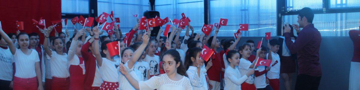 23 NİSAN'I COŞKUYLA KUTLADIK!!